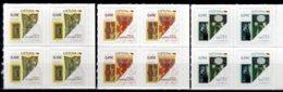2020 Lithuania Lithuanian State Symbol. Historical Paper Money Blocks Of 4 S.adhesive MNH** MI 1320-1322 - Litouwen