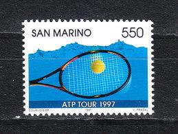 San Marino - 1997. Tennis: Circuito ATP. MNH - Tennis