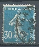 France YT N°192 Semeuse Fond Plein Oblitéré ° - 1906-38 Sower - Cameo