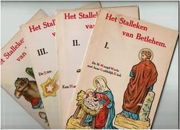 Het Stalleken Van Betlehem - Christmas Crib - Nativity Scene - Crêche De Noël à Monter En Carton - Découpage - 13 Scans - Autres Collections