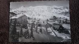 CPSM COURCHEVEL SAVOIE 1850 VUE GENERALE ET LE TELESKI DU COL DE LA LOZE ED JANSOL - Courchevel