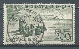 A.O.F. Poste Aérienne YT N°14 Vision Maure Oblitéré ° - Used Stamps