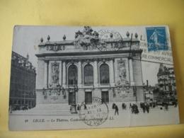 59 7454 CPA 1908 - 59 LILLE. LE THEATRE, CORDONNIER, ARCHITECTE - ANIMATION - Lille