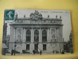 59 7466 CPA 1914 - AUTRE VUE DIFFERENTE N° 3 - 59 LILLE.  LE NOUVEAU THEATRE - ANIMATION. - Lille