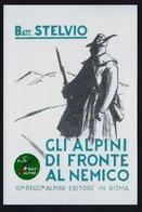 """2018 ITALIA """"GLI ALPINI DI FRONTE AL NEMICO BATT. STELVIO  / CENTENARIO GRANDE GUERRA"""" ANNULLO 04.11.2018 (VIAREGGIO) - Italie"""