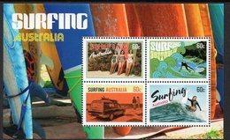 AUSTRALIA, 2013 SURFING MINISHEET MNH - 2010-... Elizabeth II