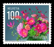 Switzerland 2020 Mih. 2652 Swiss Florists' Association. Flowers MNH ** - Suisse