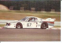 "PHOTO D'ARCHIVES : COURSE AUTOMOBILE - LE MANS  1981 - "" LANCIA BETA MCT 1400 "" - Pilotes: GALLIANI / PIRRO - Le Mans"