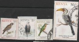 1993 USED STAMP LOT FROM KENYA ON BIRDS/ Indicator Indicator,Haliaeetus Vocifer,Melittophagus Lafresnayii,Tockus Flaviro - Colecciones & Series