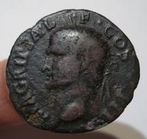 ROME CALIGULA AGRIPPA AS. NEPTUNE TRIDENT 8,34 Gr. ROMA. - 1. La Dinastia Giulio-Claudia Dinastia (-27 / 69)