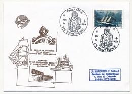 ST PIERRE MIQUELON - Cachet Temp. Point Philatélie 1994 - Marcophilie Navale - St.Pierre Et Miquelon