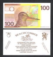 BANKBILJET 100 GULDEN - POELSNIP - BEACHCOMBER - HEINEKEN PER METER   (BB 16) - [6] Vals & Specimen