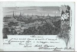 MULHOUSE    GRUSS    TOTAL ANSICHT       DEPT 68 - Mulhouse
