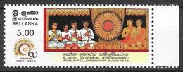 Sri Lanka 2010 MiNr. 1815 Community Of Buddhists Religions MNH** 0.30€ - Buddhism