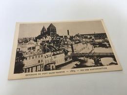 AF - 6 - Le Strasbourg Disparu - Environs Du Pont Saint-Martin 1869 - Strasbourg