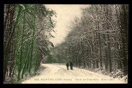 03 - SAINT-HILAIRE - FORET DE GROS-BOIS - HIVER 1917 - France