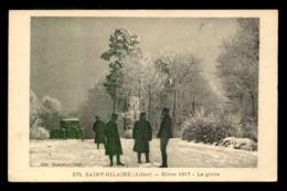 03 - SAINT-HILAIRE - HIVER 1917 - LE GIVRE - France