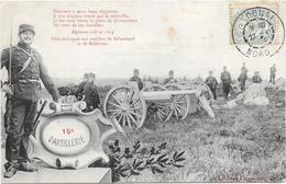 15° D'ARTILLERIE - Militaria