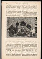 Article Coupure De Presse 2 Page(s) 2 Illustrations(s) Année 1901 (Océanie Samoa) Le Kava - Unclassified