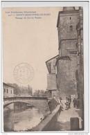 SAINT JEAN PIED DE PORT PASSAGE DU JEU DE PAUME 1920 TBE - Saint Jean Pied De Port