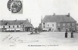 CHER - 18 - Henrichemont - La Place Henri IV - Henrichemont