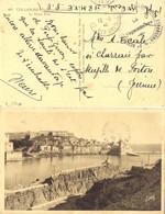 GUERRE 39-45 LÉGION ÉTRANGÈRE 2e REGIMENT DE MARCHE DE VOLONTAIRES ETRANGERS * TàD CAMP DE BARCARES PYR. ORIes  12-2-40 - Marcophilie (Lettres)