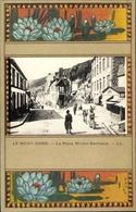 Passepartout Cp Le Mont Dore Puy De Dôme, Place Michel Bertrand - Sonstige Gemeinden
