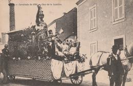 Rare CPA Candé La Cavalcade De 1906 Le Char De La Lumière - Altri Comuni