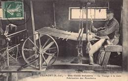 Valmont - Une Vieille Industrie - Le Tissage à La Main - Fabrication Des Mouchoirs - Valmont