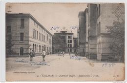 COLMAR CASERNE QUARTIER RAPP BATIMENTS C ET E 1929 MILITARIA - Colmar