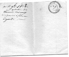 Cachet 22 DURBAN (10) Sur L.A.C. Du 2/11/1862. - Marcophilie (Lettres)