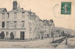76     La Bouille        Le Quai & Hotel De La Poste - La Bouille