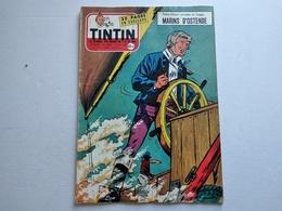 TINTIN N° 458  CLUB TINTIN CHEZ PEUGEOT A SOCHAUX  ( 4p ) COUVERTURE ATTANASIO  AVEC LE POINT TINTIN TBE - Tintin