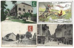 39 - JURA - Lot De 55 Cartes Postales Anciennes, Dont Villages - Pas De Lons - CPA - France