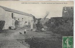 94, CRETEIL Pittoresque, Vieilles Maisons Au Hameau De Mesly, Scan Recto-Verso - Creteil