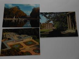 Versailles Château Le Grand Trianon Et Ses Jardins Photo Aérienne, Petit Trianon Temple De L'Amour, Char D'Apollon - Versailles (Château)