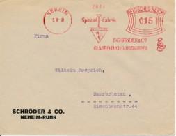 Allemagne EMA 1931 – Schröder & C°  Neheim – Système D'éclairages Lampes - Electricity