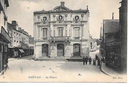 50    Saint-lo     Place Du Theatre - Saint Lo