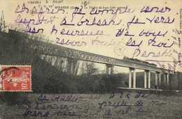 MIRANDE ( Gers) Le Viaduc De Laas ( 287 Mètre) TRAIN  RV - Mirande