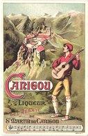 FR66 SAINT MARTIN DU CANIGOU - Carte Pub Liqueur De L'abbaye - Belle - Otros Municipios