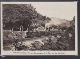 B57 /   Deutsche Reichsbahn Eisenbahn / Dresden 1936 - Treinen