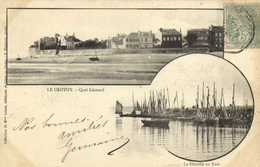 LE CROTOY  Quai Leonard  La Flotille Au Port RV - Le Crotoy