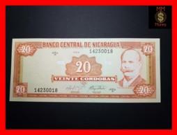 NICARAGUA 20 Cordobas 1999 P. 189   Serie D  UNC - Nicaragua