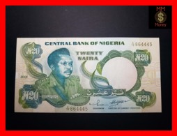 NIGERIA 20 Naira  2001 P. 26 G  UNC - Nigeria