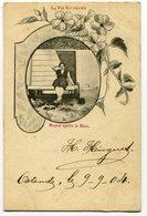 CPA - Carte Postale - Belgique - La Vie Balnéaire - Repos Après Le Bain - 1904 (D12394) - Oostende
