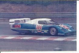 """PHOTO D'ARCHIVES : COURSE AUTOMOBILE - LE MANS  1986 - """" WM PEUGEOT P.85 """" - Pilotes: DORCHY / PASSIOT - Le Mans"""