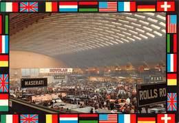 """010649 """"TORINO - SALONE DELL' AUTOMOBILE - ANNI '60""""  ANIMATA, AUTO MASERATI, LANCIA..... CART NON SPED - Italia"""