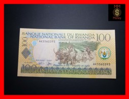 RWANDA 100 Francs 1.9.2003  P. 29 B  UNC - Rwanda