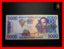 SIERRA LEONE 5.000 5000 Leones 1.3.2003 P. 27 B  UNC - Sierra Leone