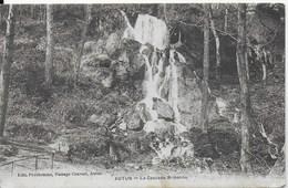 Autun - La Cascade De Brisecou - Ed. Prudhomme, Passage Couvert, Autun - Cachet Poste 1909 - Autun